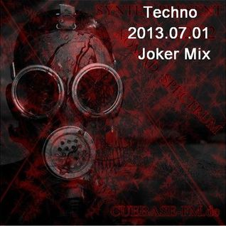 Techno 2013.07.01@Joker Mix