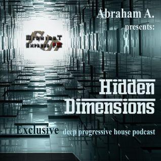 Abraham A. - Hidden Dimensions 023 [Midnight Express fm]