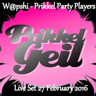 W@pshi - Prikkel Party Players