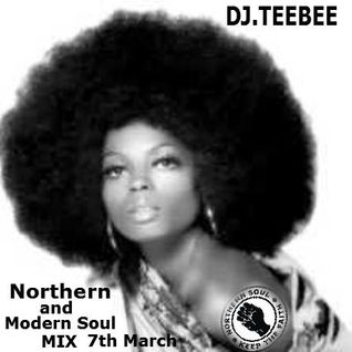 Northern & Modern soul mix 7th March 2015.