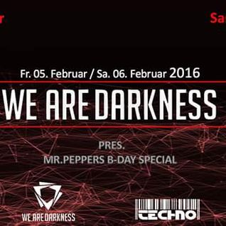 we are Darkness 5.2.2016 DonDiggitus Warm up