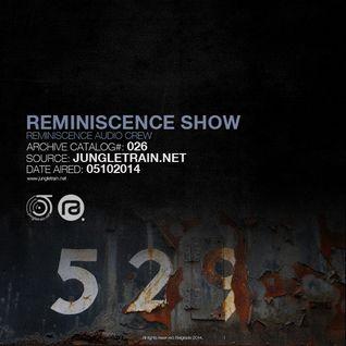 Reminiscence Show 05102014 @ Jungletrain.net