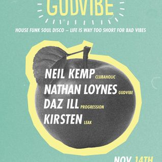 The GUDVIBE MIX recorded live at The 212 Leeds October 2015