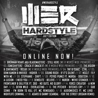 Brennan Heart presents WE R Hardstyle July 2015