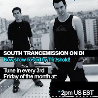 South Trancemission 002 15/01/2010