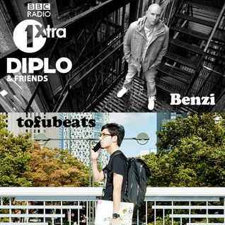 Diplo & Friends on BBC Radio 1 ft Benzi and tofubeats 7/13/14