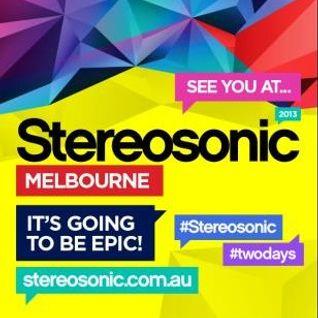 Josh.B - Stereosonic 2013 Mix