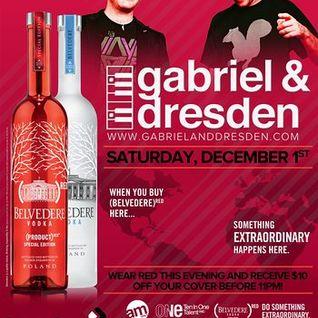 Gabriel & Dresden - Live @ Beta Nightclub (Denver) - 01.12.2012