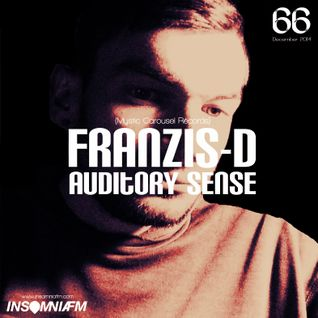 Franzis-D - Auditory Sense 066 @ InsomniaFm - Dec 11, 2014