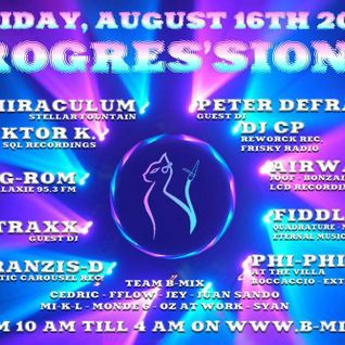 Juan Sando - Progression 002 [Aug 16, 2013] on B-Mix Radio