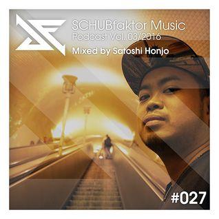Podcast Vol. 3/2016 - Mixed by Satoshi Honjo