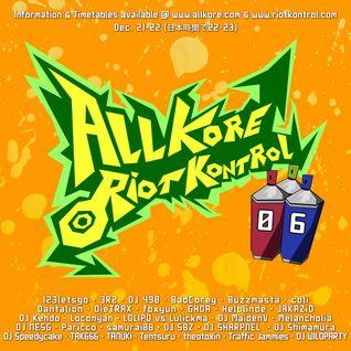Daniel Seven - Warmup Set @ Allkore Riot Kontrol 06 (21.12.2012)