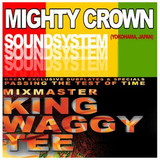 Mighty Crown/ King Waggy Tee - Soundbwoy Destiny vs Reggae History