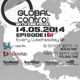 Dan Price - Global Control Episode 161 (14.05.14)