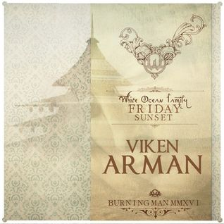 Viken Arman – White Ocean - Burning Man 2016