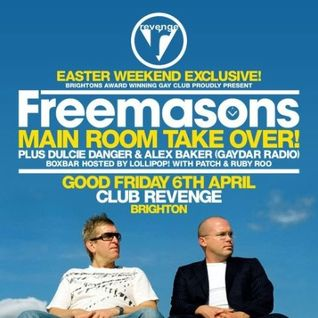 Freemasons vs Club Revenge - Main Room Takeover - Promo Mix