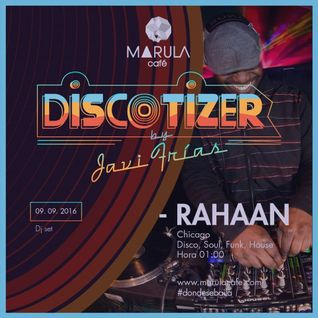 Marula Café Sessions. Dj RAHAAN (Chicago) Part.2
