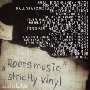BASS&LOVE mixtape Vol. 1 | ROOTS MUSIC - strictly vinyl