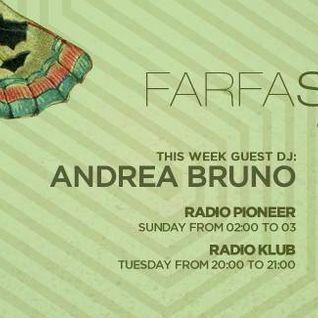 Andrea Bruno - Farfasound Radioshow January 2015