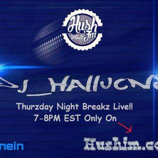 Hallucn8 TNB LIVE Hush Old Skool 8-18-16