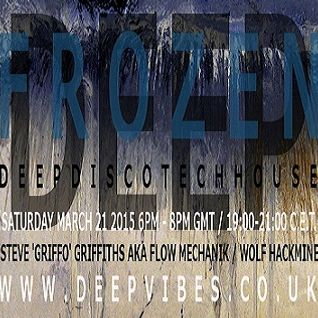 FLOW MECHANIK - 'DEEP FROZEN' (LIVE MARCH 2015) - DEEP VIBES RADIO