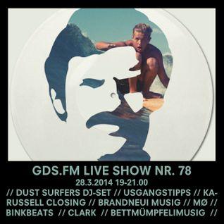 GDS.FM SHOW Nr. 78 MIT DEN DUST SURFERS