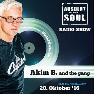 Absolut Soul Show /// 20.10.16 on SOULPOWERfm