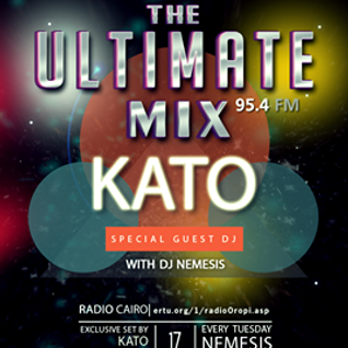 The Ultimate Mix Guest Radio Show on 95.4 FM Radio Cairo 17/11/2015 Zoltan Katona (Kato)