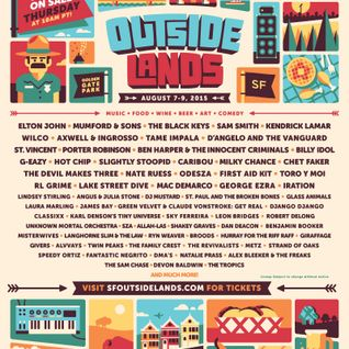 Axwell & Ingrosso - Live @ Outside Lands Festival (San Francisco, USA) - 09.08.2015