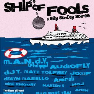 M.A.N.D.Y. & DJ T - Live on the Ship of Fools 2012, Miami, WMC (25-03-2012)