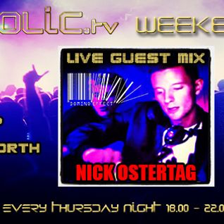 The Clubaholic Weekend Warmup Radio Show ft. live guest mix - Nick Ostertag & S.J. Cleary  14/11/13
