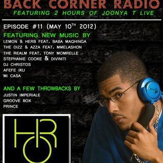 BACK CORNER RADIO: Episode #11 (May 10th 2012)