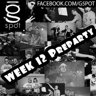 WEEK 12 PreParty