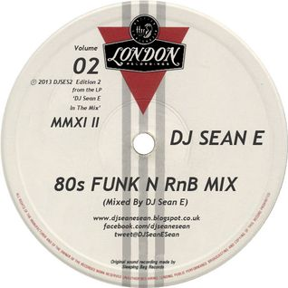 80's Funk N RnB Mix Vol 2 - DJ Sean E