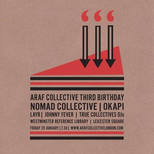 Johnny Fever's Warm-up Mix for Araf's Third Birthday
