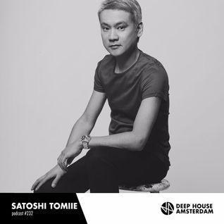 Satoshi Tomiie - Deep House Amsterdam Mixes 232 (23-09-2016)