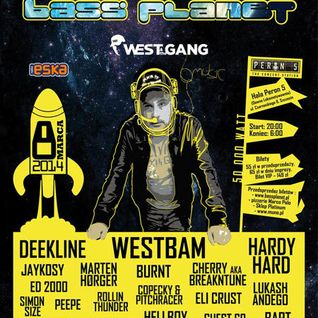 Lukash Andego - live @ Bass Planet 2014 (Westbam b-day) Peron 5 - Szczecin, 08.03.2014