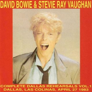 David Bowie with SRV - Soundcheck 1983-04-27 Los Colinas Soundstage,  Dallas, TX
