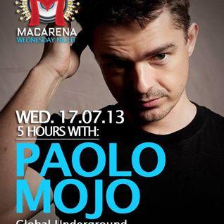 Paolo Mojo - Live @ La Macarena, Barcelona (Part 1) (17-07-2013)