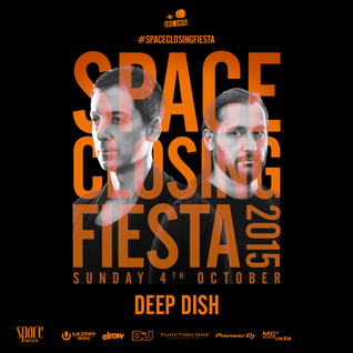 Deep Dish - live at Space Closing Fiesta 2015, Terrace, Space, Ibiza - 04-Oct-2015