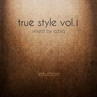 Intuition | true style vol.1 | mixed by q.biq | 07.04.2014