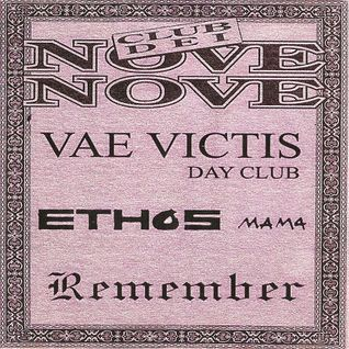 Remember Club dei Nove Nove - Vae Victis Day Club - Ethos Mama