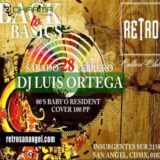 Back To Basic 80s Best Mix By  Luis Ortega Dj