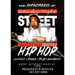 Saturday Night Street Jam 9-27-15 Feat The Rapper DKnights