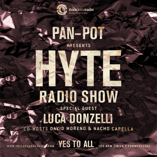 Pan-Pot - Hyte on Ibiza Global Radio Feat. Luca Donzelli - September 21