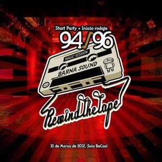 Rewind the tape 94/96 - Dj Zero vs Dj Ebola - Sistema vs Dj GUS - Sala Becool 10-03-2012 - 1ª parte