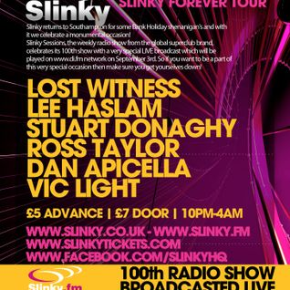 Vic Light - Live @ Slinky, Southampton (28-08-11)