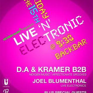 DJ Nav Live Set @ 930 Club BackBar 6-15-12
