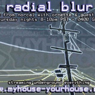 Radial Blur 4-4-11 Live on myhouseyourhouse.net
