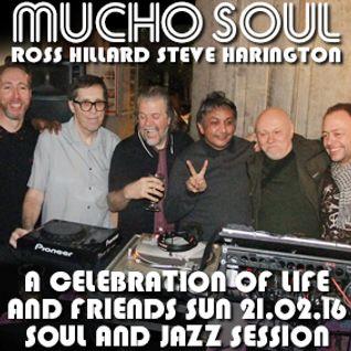 A Celebration Of Life & Friends 2016 Sunday Soul & Jazz Session